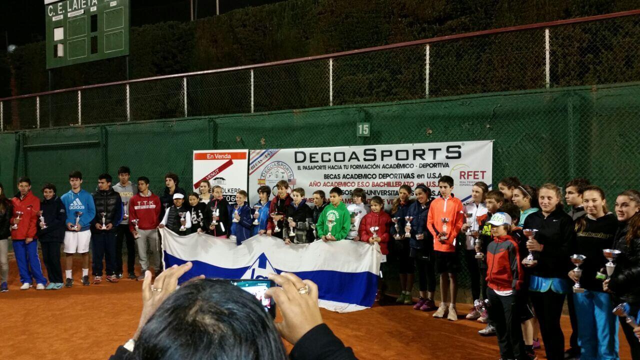 Torneo de Navidad del Club de Tenis Laieta.
