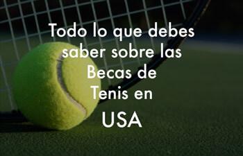 Beca de Tenis en USA