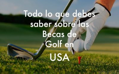 Beca de Golf en Estados Unidos