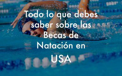 Beca de natación en estados unidos