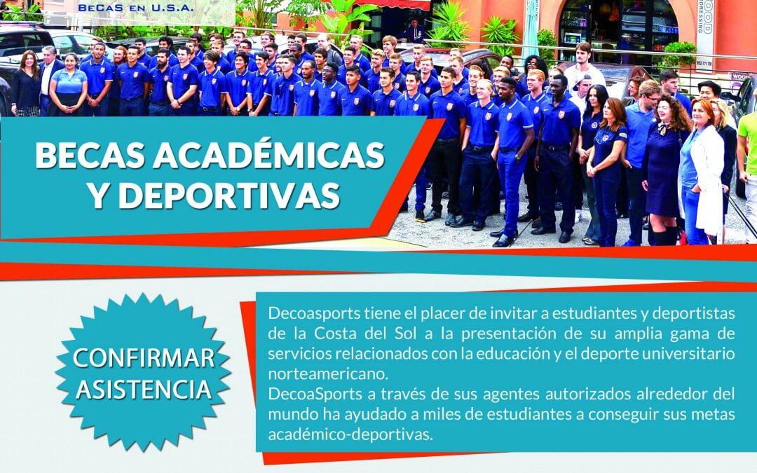 Presentación de los servicios de Decoasports en The American College in Spain