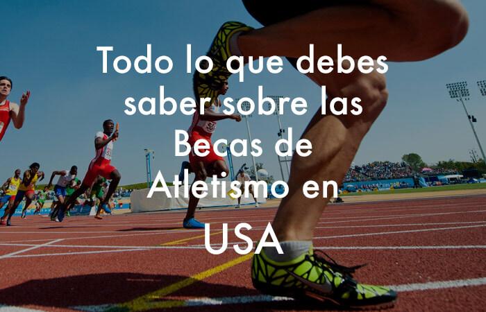 Beca de atletismo en USA