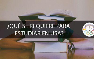 ¿Qué se requiere para estudiar en USA?