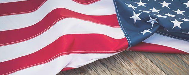 Bandera de Estados Unidos