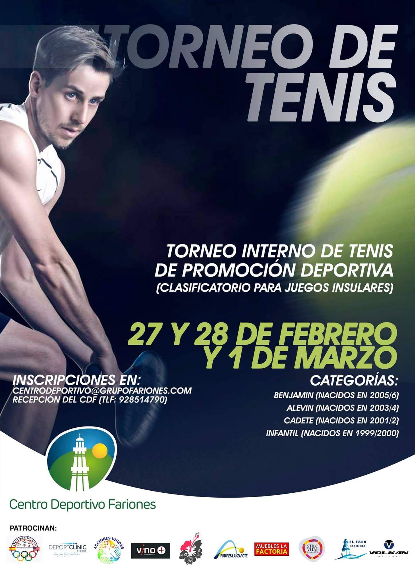 Centro deportivo Fariones.