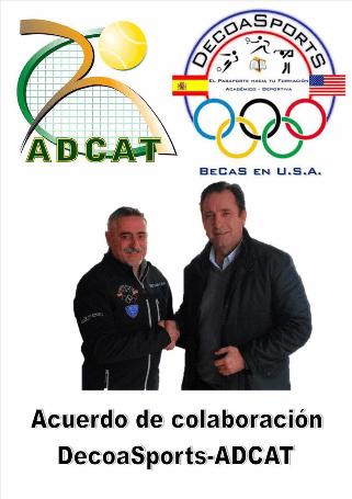 DecoaSportS y ADCAT acuerdo de colaboración mutua para la temporada 2016.