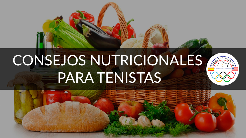 Nutrición deportiva para tenistas.