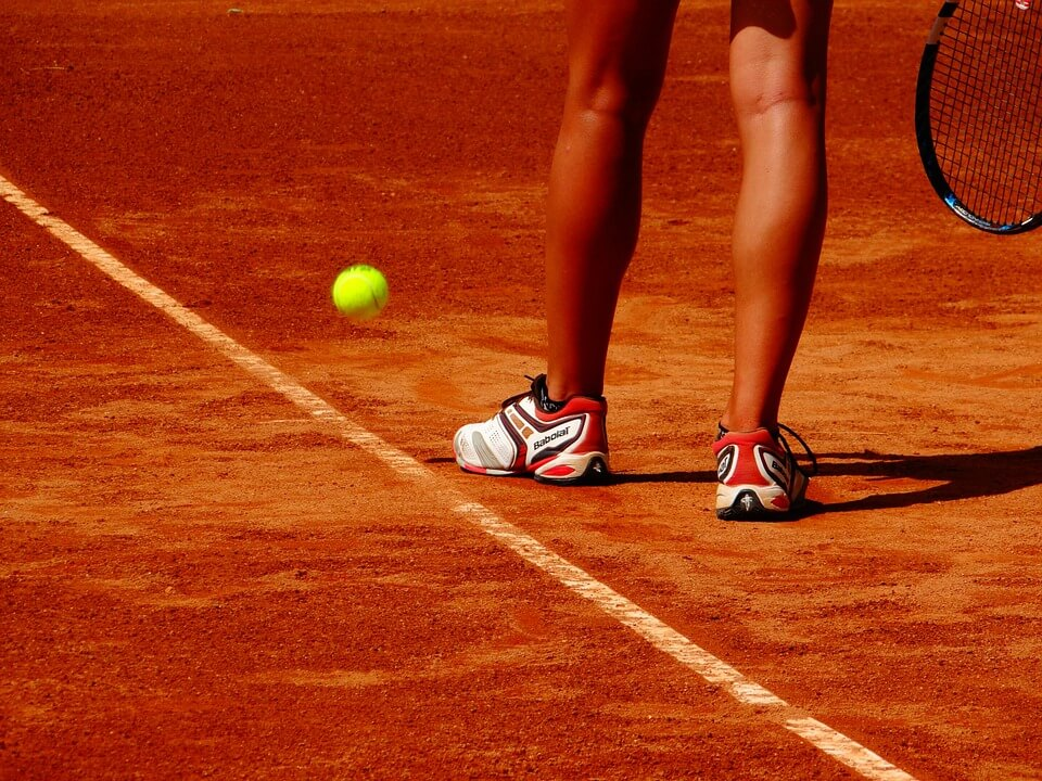 Calentamiento tenis