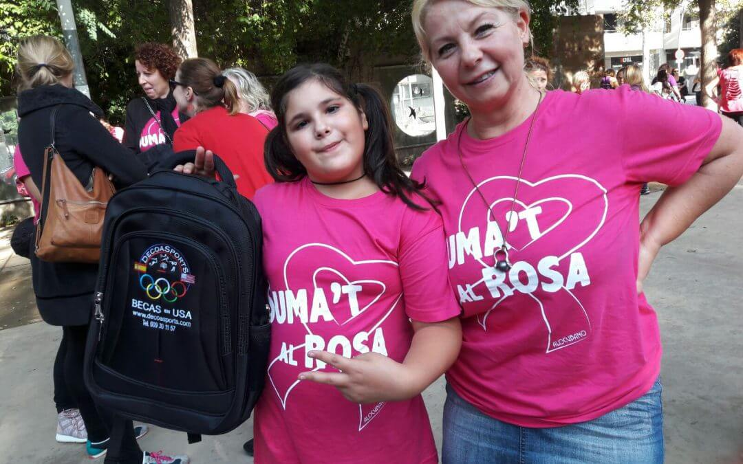 Súmate al Rosa, DecoaSports con la lucha contra el cancer. DecoaSports , con ellas.