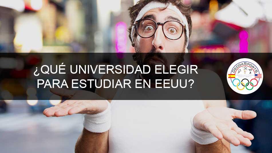 ¿Qué universidad elegir para estudiar en EEUU?