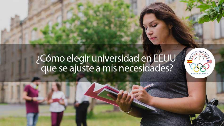 ¿Cómo elegir universidad de EEUU que se ajuste a mis necesidades?