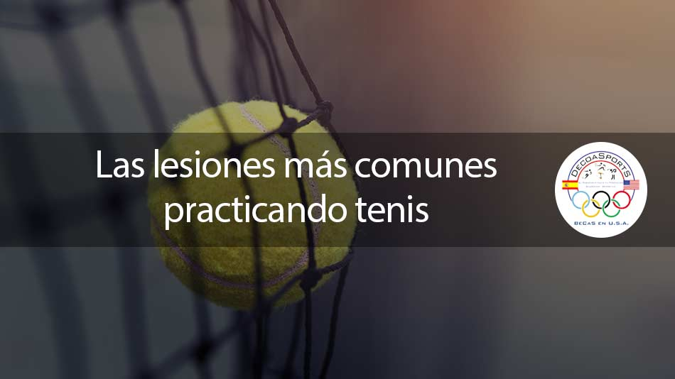Las lesiones más comunes practicando tenis