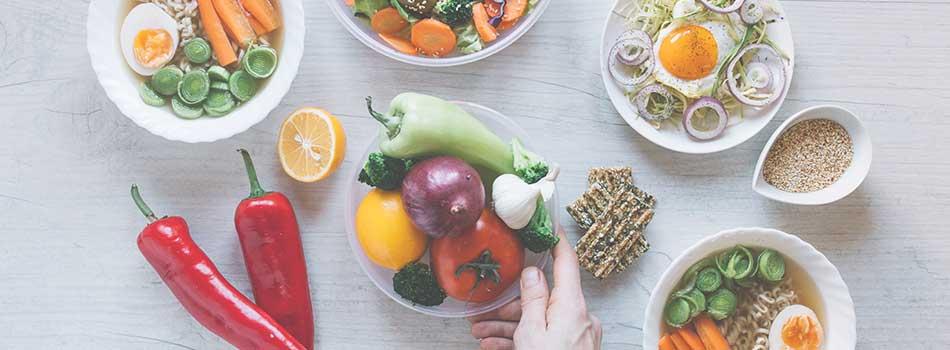 Comer de manera equilibrada
