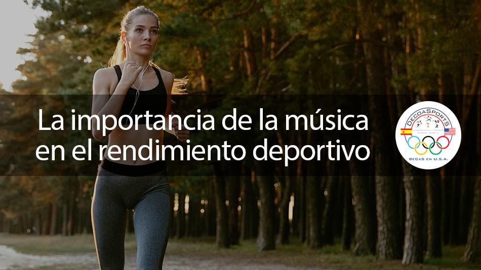 La importancia de la música en el rendimiento deportivo