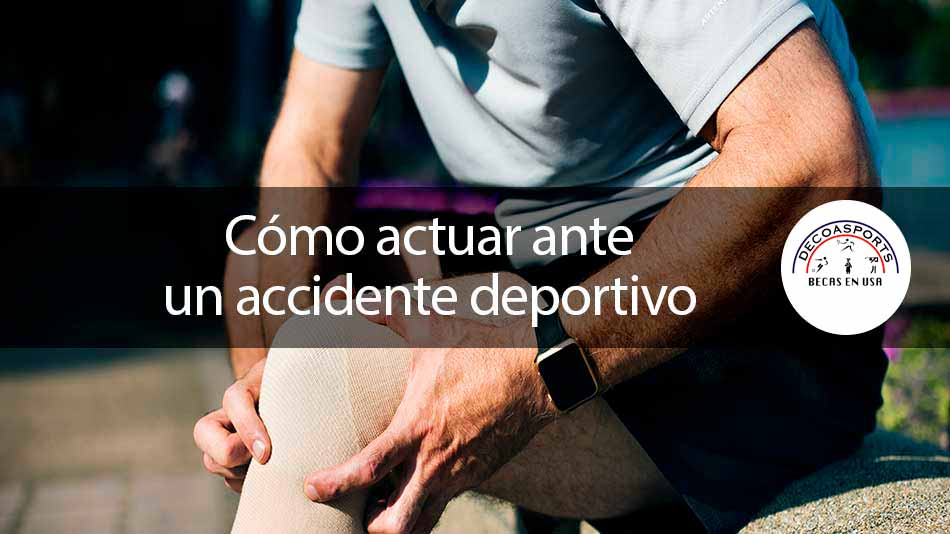 Cómo actuar ante un accidente deportivo
