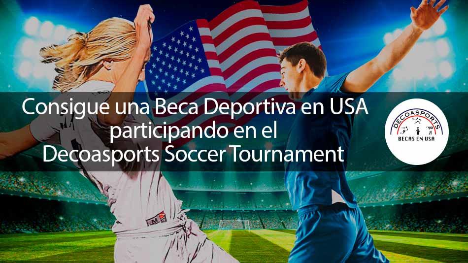 ¡Consigue una beca deportiva en universidades de Estados Unidos! Fútbol masculino y femenino