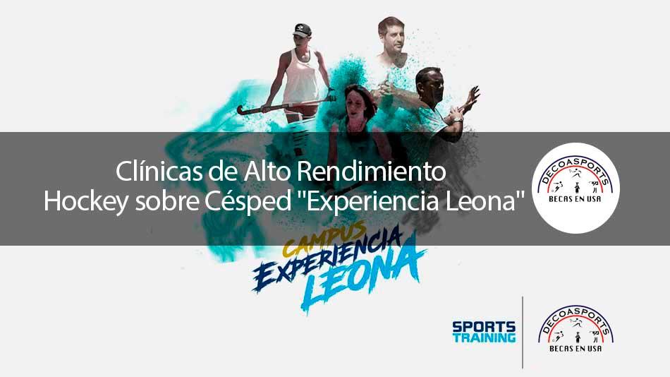 """Clínicas de Alto Rendimiento Hockey sobre Césped """"Experiencia Leona"""""""