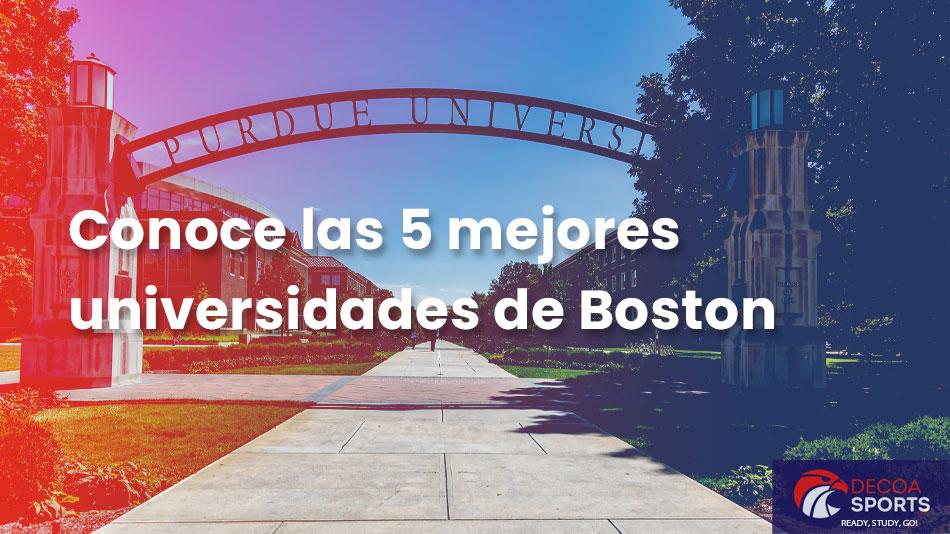 Conoce las 5 mejores universidades de Boston